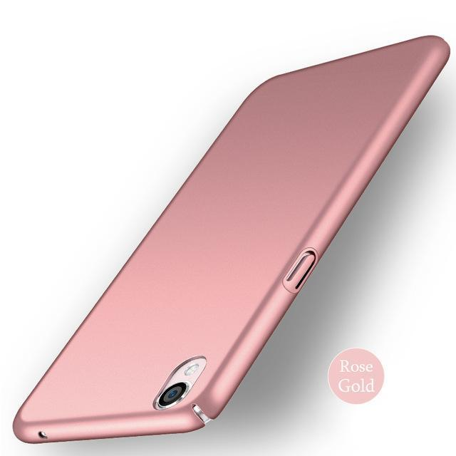 Phone Case and Accessories Case SONY XPERIA XA1 PLUS RoseGold / XA1 Ultra Matte Anti-FingerPrint Phone Case Cover For Sony Xperia Z5, XA1 plus