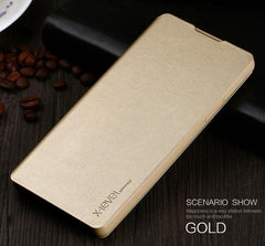 Phone Case and Accessories Case SONY XPERIA XA1 ULTRA Gold / For Sony XA1 Ultra Phone Case Flip Leather Slim For Sony Xperia XA 1 Ultra