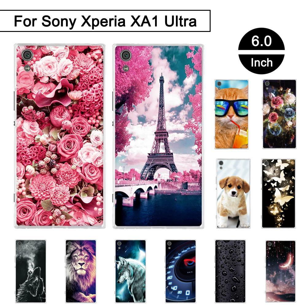 Phone Case and Accessories Case SONY XPERIA XA1 ULTRA Phone Case Soft Silicone For Sony Xperia xa1 Ultra Back Phone Case