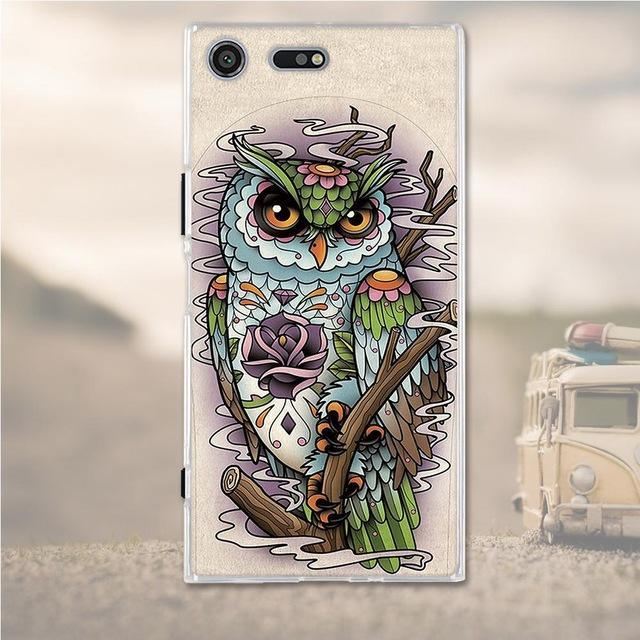Phone Case and Accessories case Sony xperia xz premium 17 Silicone Phone Case For Sony Xperia XZ Premium Case 3D Soft TPU