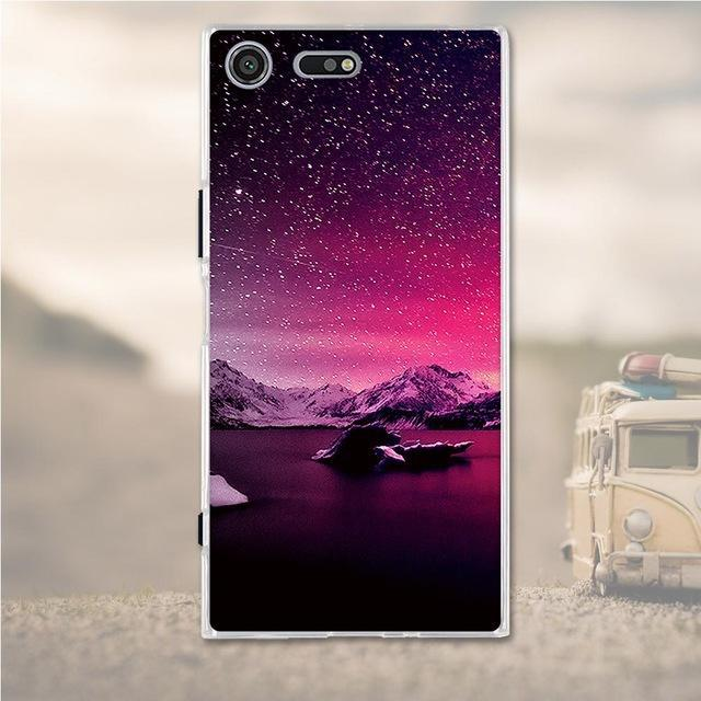 Phone Case and Accessories case Sony xperia xz premium 21 Silicone Phone Case For Sony Xperia XZ Premium Case 3D Soft TPU