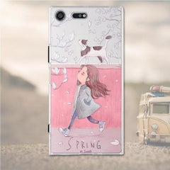 Phone Case and Accessories case Sony xperia xz premium 5 Silicone Phone Case For Sony Xperia XZ Premium Case 3D Soft TPU
