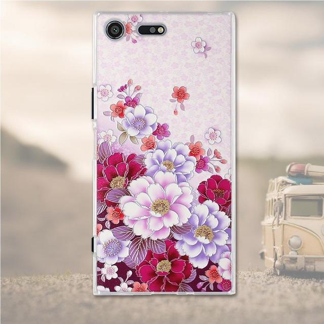 Phone Case and Accessories case Sony xperia xz premium 7 Silicone Phone Case For Sony Xperia XZ Premium Case 3D Soft TPU
