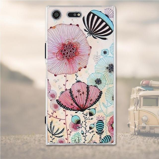 Phone Case and Accessories case Sony xperia xz premium 8 Silicone Phone Case For Sony Xperia XZ Premium Case 3D Soft TPU