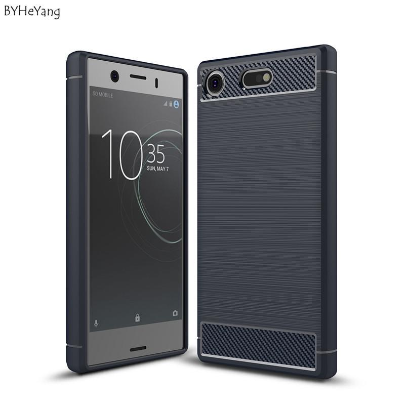 Phone Case and Accessories Case SONY XPERIA XZ1 COMPACT Phone Case For Sony Xperia XZ1 Compact Case Carbon Fiber