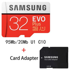 Phone Case and Accessories micro sd card MB-MC32G-1 SAMSUNG Micro SD Card 8G 16G 32G 64G 128G 256G 100Mb/s Memory Card Flash TF