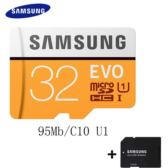 Phone Case and Accessories micro sd card MB-MP32G-1 SAMSUNG 100Mb/s  Micro SD Card Class10 32GB 64GB 128GB 256GB 16GB 8GB others