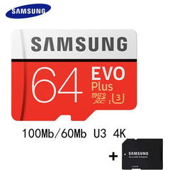 Phone Case and Accessories micro sd card SAMSUNG 100Mb/s  Micro SD Card Class10 32GB 64GB 128GB 256GB 16GB 8GB others