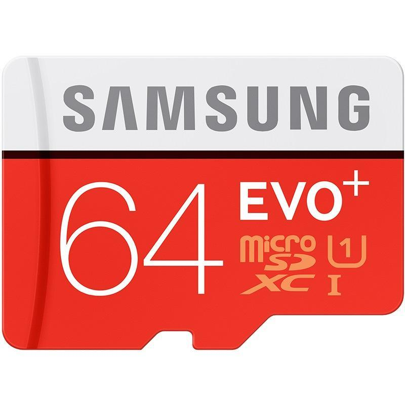 Phone Case and Accessories micro sd card SAMSUNG EVO+  Micro SD  80mb/s Grade Class10 --16GB/32GB/64GB/128GB