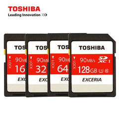 Phone Case and Accessories sd card TOSHIBA SD Card 32GB SDHC 64GB 128GB SDXC  Memory Card For Camera