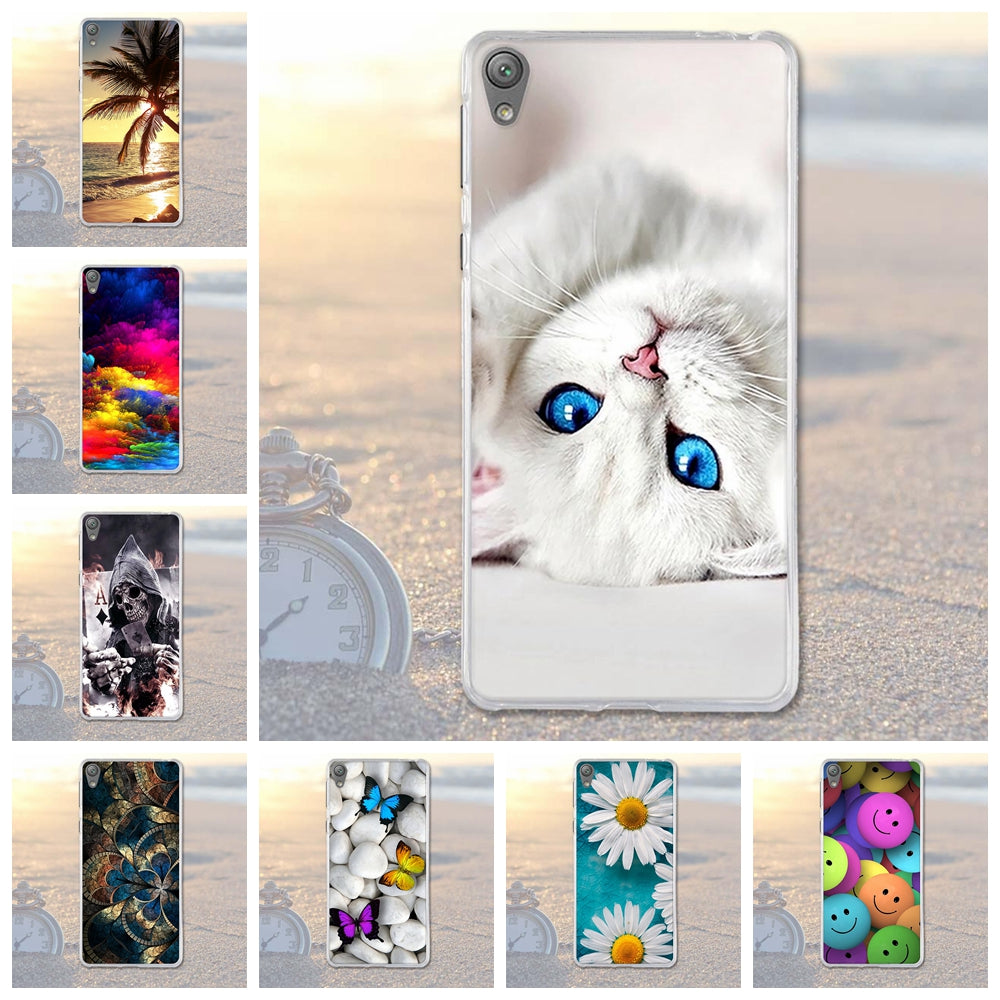 100% Brand New High Quality Phone Cases For Sony Xperia E5