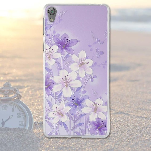 Hot Selling Silicone Phone Cases For Sony Xperia E5-Deluxe Fashion Elegant