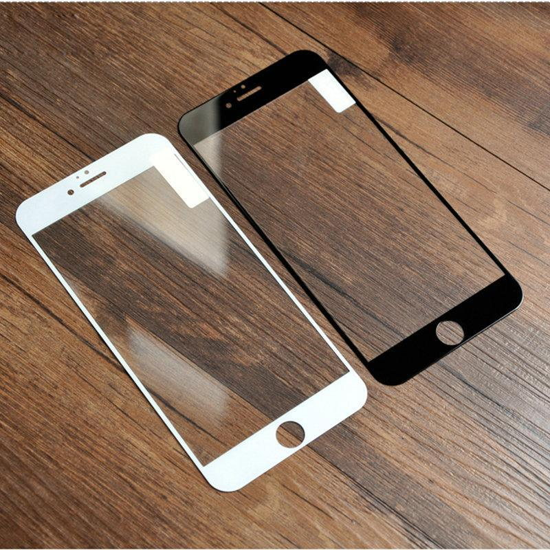 Screen Protectors Screen Protectors Full Screen Protection Tempered Glass For iPhone 5S