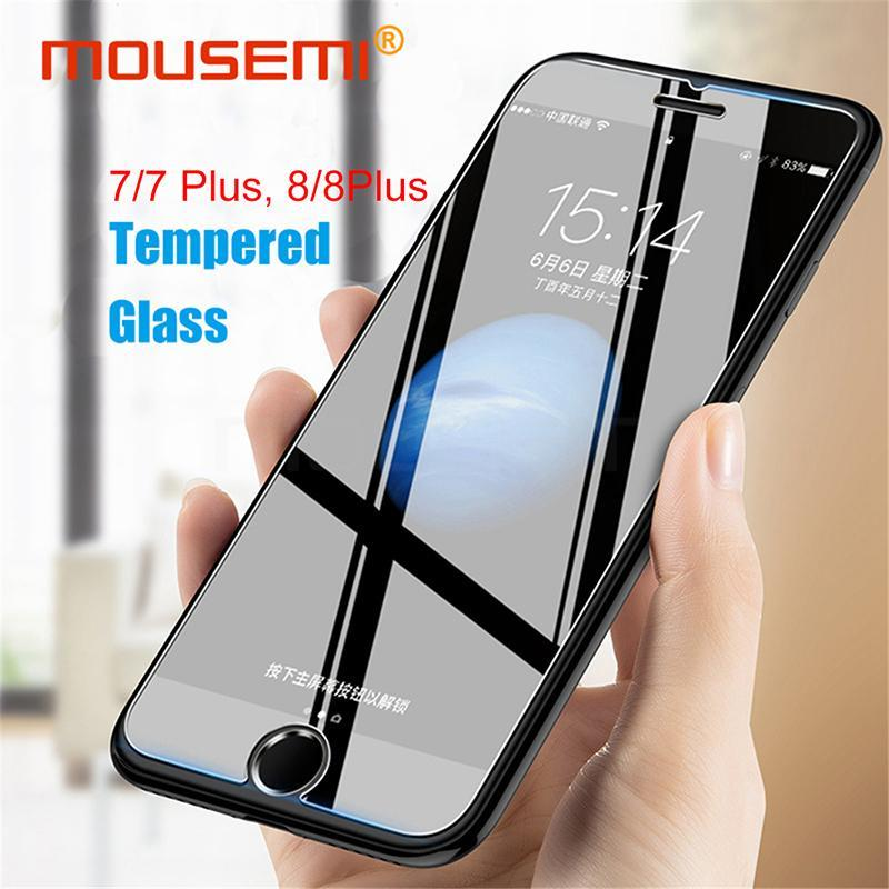 Screen Protectors Screen Protectors Tempered Glass Screen Protector 9H 2.5D Explosion Proof Film For iPhone 7Plus