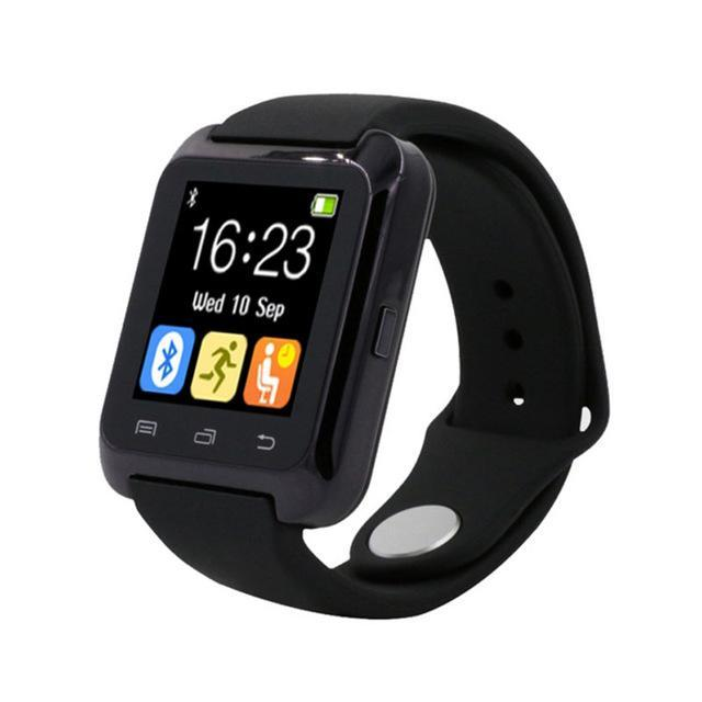 Smartwatch Smartwatch Black Smartwatch Bluetooth Smart Watch for iPhone IOS Android Smart Phone Wear Clock Wearable Device Smartwatch