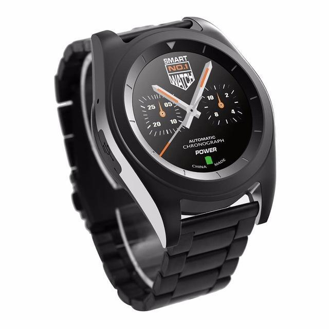 Smartwatch Smartwatch Black Steel / Language B Original Wristwatch Smartwatch Heart Rate Monitor Fitness Tracker Intelligent Clock For iOS Android