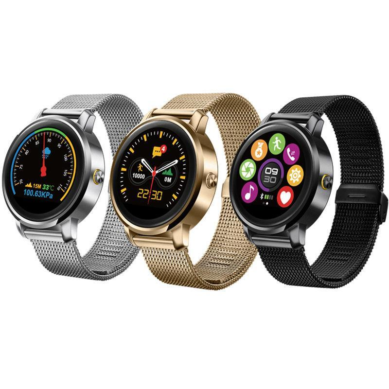 Smartwatch Smartwatch Bluetooth Smart Watch 1.22 inch IPS HD Display Support Heart Rate Monitoring Message Push for IOS Android Phones