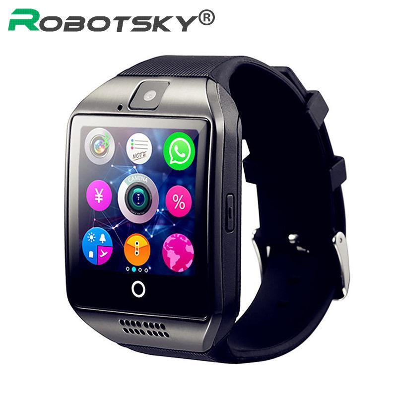 Smartwatch Smartwatch Bluetooth Support TF card With Camera Smart Watch message reminder,Watches Wrist for Android