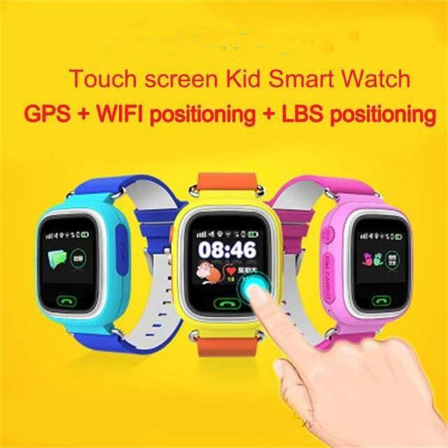Smartwatch Smartwatch Free Shipping-GPS Phone Positioning Fashion Children Watch 1.22 Inch Color WIFI Touch Screen,SOS Smart Watch