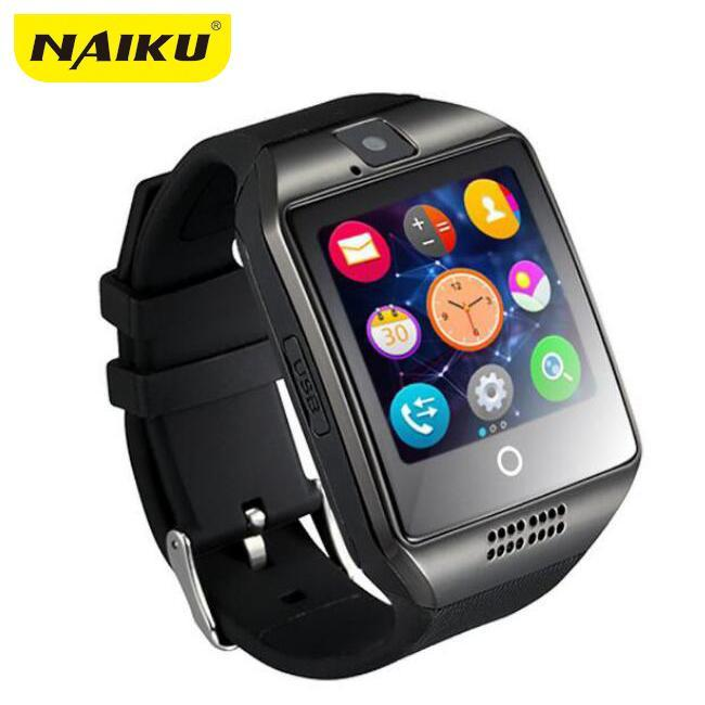 Smartwatch Smartwatch Free shipping- Passometer Smart watch with Touch Screen camera TF card,Bluetooth smartwatch for Android IOS Phone