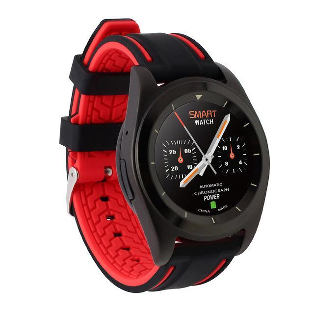 Smartwatch Smartwatch Red Silicone / Language B Original Wristwatch Smartwatch Heart Rate Monitor Fitness Tracker Intelligent Clock For iOS Android