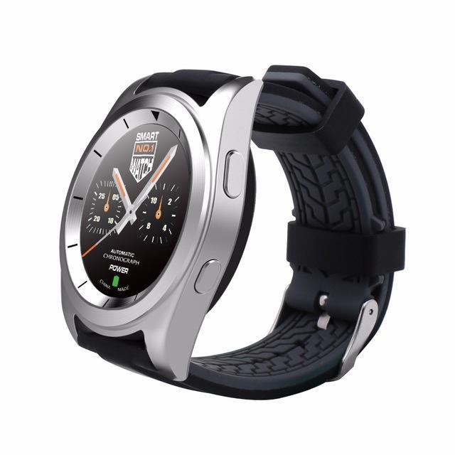 Smartwatch Smartwatch Silver Silicone / Language B Original Wristwatch Smartwatch Heart Rate Monitor Fitness Tracker Intelligent Clock For iOS Android