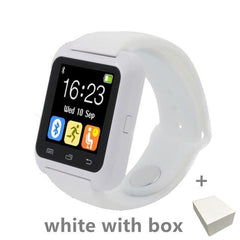 Smartwatch Smartwatch white with box Smartwatch Bluetooth Smart Watch for iPhone IOS Android Smart Phone Wear Clock Wearable Device Smartwatch