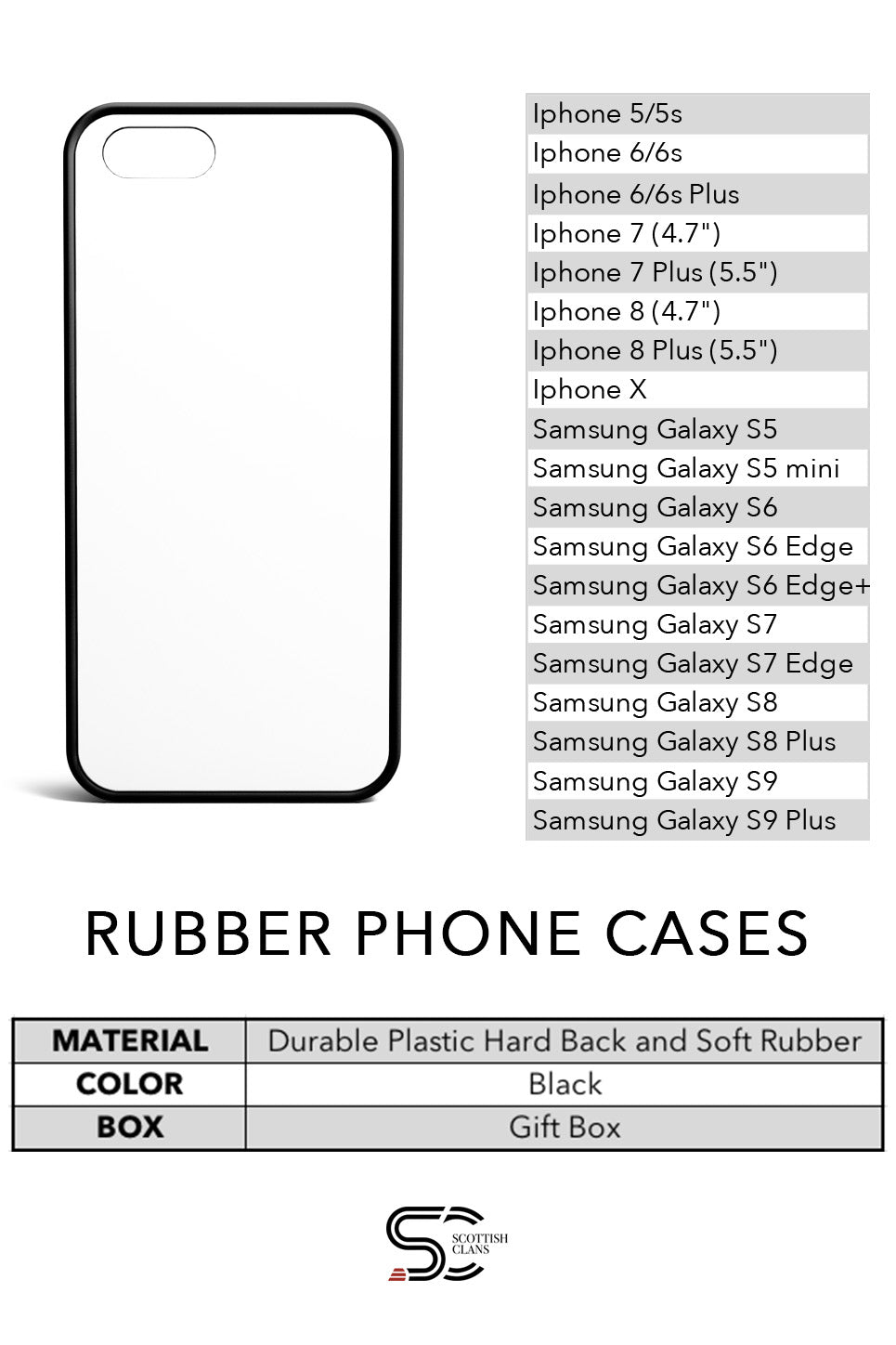 Rubber Phone Cases - Phone Covers