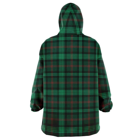 Ross Hunting Modern Snug Hoodie - Unisex Tartan Plaid Back