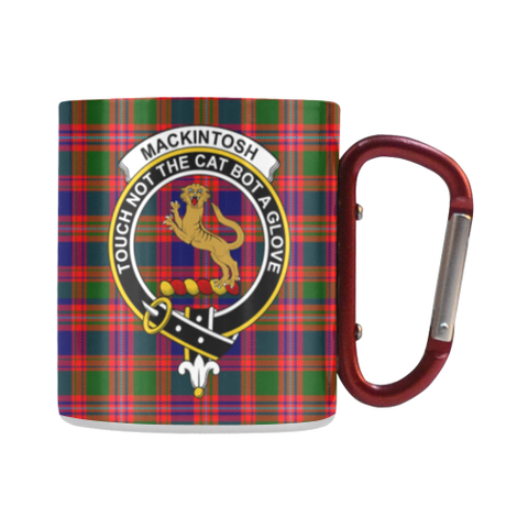 Macintyre Modern Tartan Mug Classic Insulated - Clan Badge | scottishclans.co