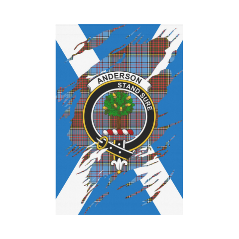 Anderson Lives In Me Tartan Flag | Scottishclans.co
