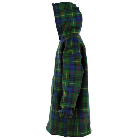 Image of Stewart Hunting Modern Snug Hoodie - Unisex Tartan Plaid Left