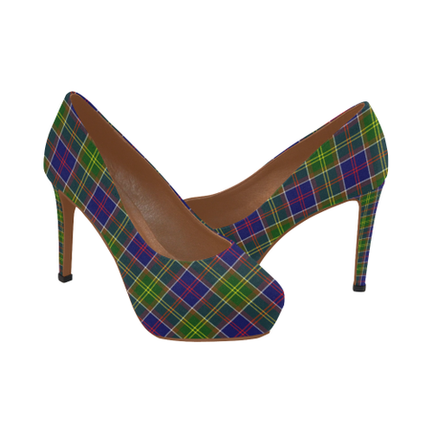 Image of Ayrshire District Plaid Heels