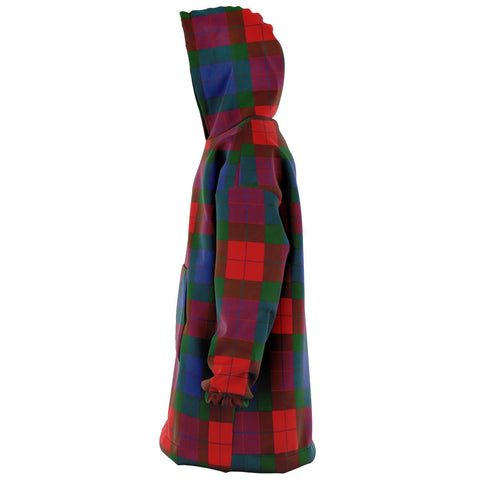 Mar Snug Hoodie - Unisex Tartan Plaid Left