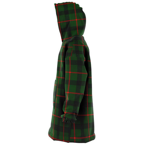 Image of Kincaid Modern Snug Hoodie - Unisex Tartan Plaid Left