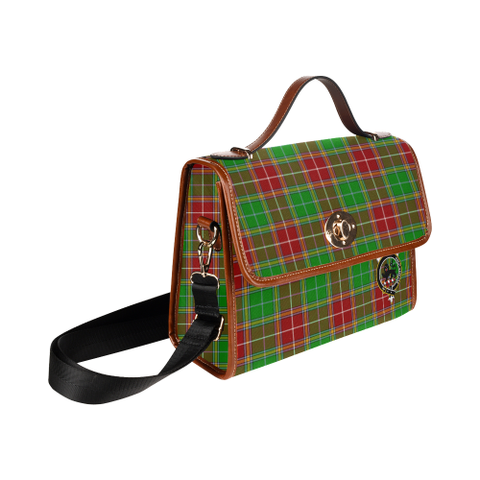 Image of Baxter Clan Tartan Canvas Bag | Special Custom Design