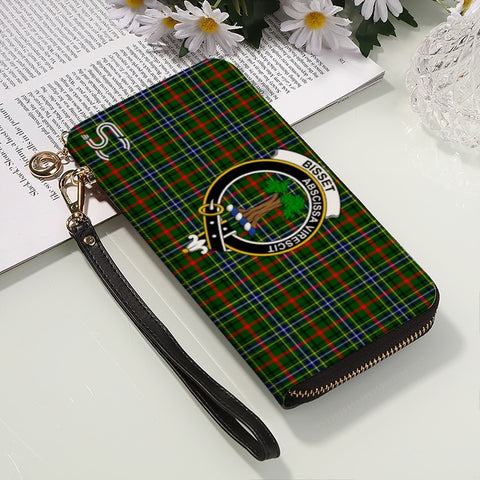 Image of Bisset Crest Tartan Zipper Wallet™