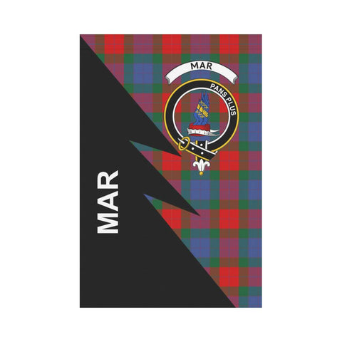 "Image of Mar Tartan Garden Flag - Flash Style 12"" x 18"""