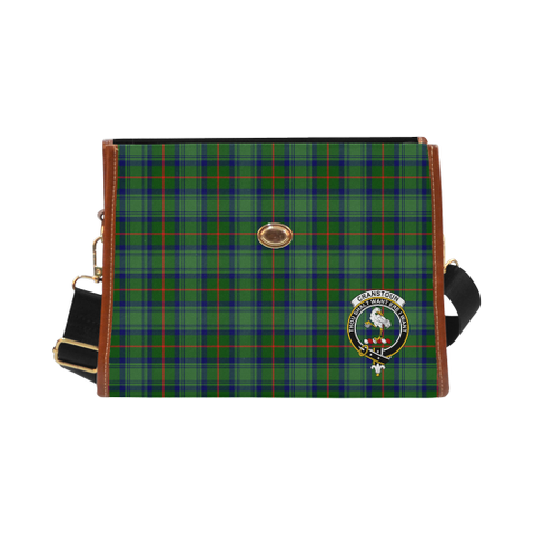 Cranstoun Clan Tartan Canvas Bag | Special Custom Design