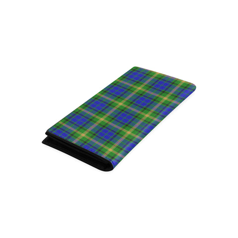 Image of Maitland Tartan Wallet Women's Leather Thistle A91