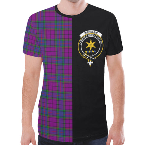 Image of Wardlaw Modern T-shirt Half In Me | scottishclans.co