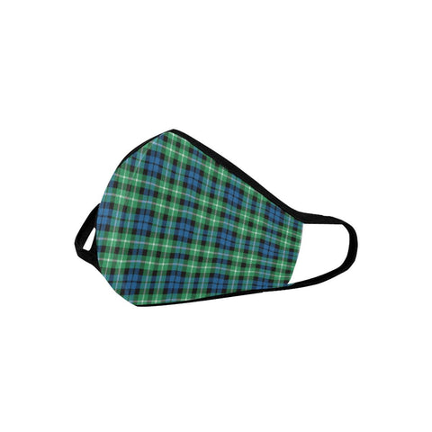 Graham of Montrose Ancient Tartan Mouth Mask With Filter | scottishclans.co