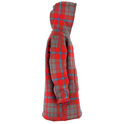 Image of Moubray Snug Hoodie - Unisex Tartan Plaid Right