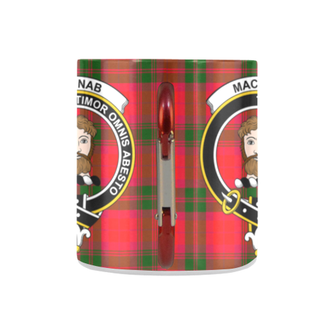 Macnab Modern Tartan Mug Classic Insulated - Clan Badge K7