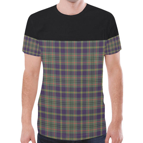 Image of Tartan Horizontal T-shirt - Taylor Weathered | Tartan Clothing | Over 500 Tartans and 300 Clans