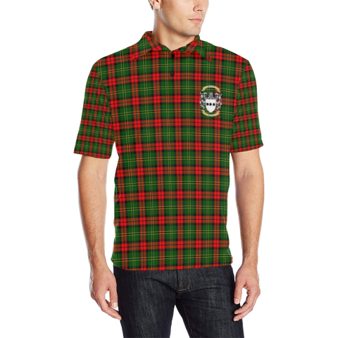 Blackstock Tartan Clan Badge Polo Shirt