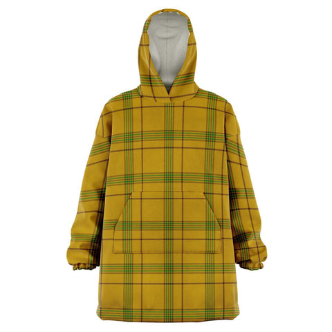 Houston Snug Hoodie - Unisex Tartan Plaid Front