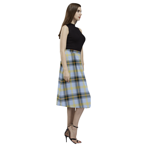 Bell of the Borders Tartan Aoede Crepe Skirt | Exclusive Over 500 Tartan