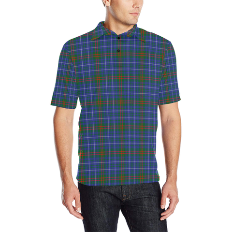 Image of Edmonstone  Tartan Polo Shirt