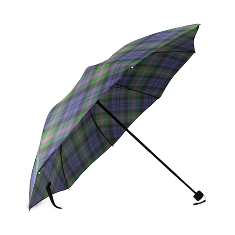 Baird Modern Crest Tartan Umbrella TH8